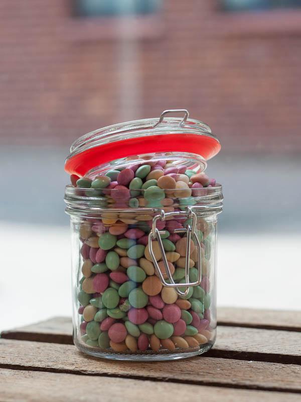 Heerlijke chocolade smarties van Gewoonsnoepgoed Smarties Glutenvrij