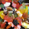 verschillende soorten suikervrij snoep